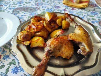 Cuisses de canard au four