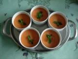Verrines de mousse de melon
