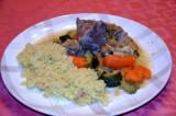 Tajine d'agneau aux légumes