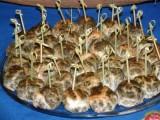 Mini caillettes pour un buffet