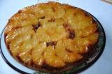 Gâteau à l'ananas au caramel