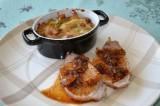 Filet de porc rôti à l'ail