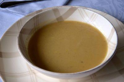 Soupe de patates douces